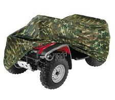 Camo ATV Quad Bike Dust Cover For Honda Foreman Rubicon TRX 250 400 420 500