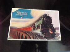 Pennsylvania Railroad Broadway Limited Train Locomotive Vintage Postcard d