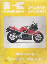 Kawasaki GPZ500R GPZ600R 1985 Service Manual 99924-1055-01