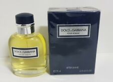 Intage DOLCE & GABBANA D&G POUR HOMME Edt 125ml Spray + After shave 75ml , ...
