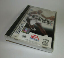 NBA Live 97 (Sega Saturn, 1997) Complete CIB Nice Shape w/ Registration Card