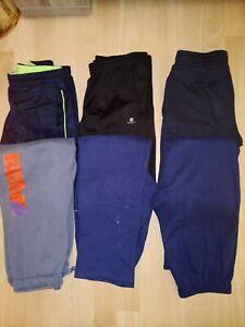 Lot 6 pantalons bas de jogging - 12 ans