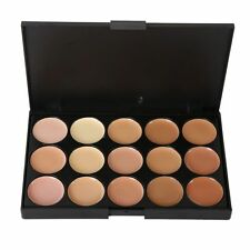 Makeup Concealer Palette Set With Brush Sponge Puff Face Contour Cream