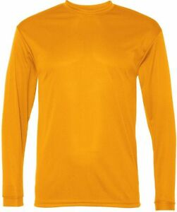 C2 Sport Long Sleeve Performance T-Shirts, Men's sizes S-3XL, dry wicking 5104