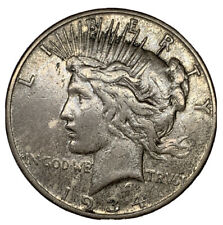 1934-S Peace Dollar ~VF+~