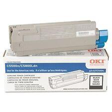 Okidata 43324404 C5500n/c5800ldn Black Toner Cartridge [5k Pages] Type C8
