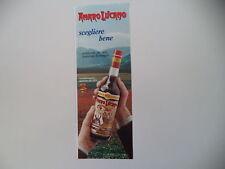 advertising Pubblicità 1985 AMARO LUCANO