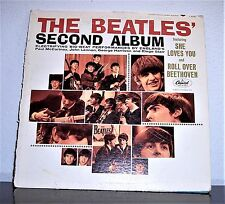 THE BEATLES' SECOND ALBUM 1964 CAPITOL HIGH FIDELITY T2080 RECORDED IN LONDON LP