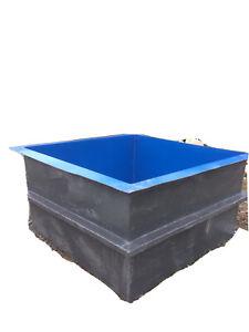 Free Standing Koi Vat Tank Pond