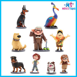 Disney Store Up Deluxe 9 piece Figurine Playset cake toppers