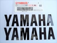 Yamaha GENUINE Belly Pan Fairing Sticker Decals BLACK 195mm x 45mm YZF 125 R6 R1
