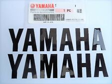 Yamaha GENUINE Belly Pan Fairing Sticker Decals BLACK 195mm x 45mm YZF125 R6 R1