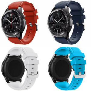 Silicone For Samsung Gear S3 Frontier/Classic Bracelet Strap Watch Band  22mm
