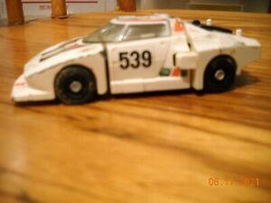 Vintage  1980  race car Takara  transformer to robot