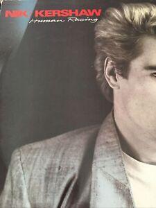 Nik Kershaw - Human Racing 1984 Original UK Vinyl LP Album Record