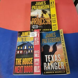 JAMES PATTERSON - Lot of 3 Paperback Books - See Photos For Titles