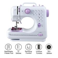 Mini Sewing Machine Portable Multifunction Electric Replaceable Presser