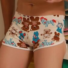 Mens Teddy Bear Design Boxer Shorts Size Medium.
