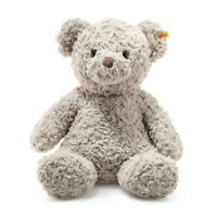 STEIFF® 113482 - Soft Cuddly Friends Honey Teddybär Grau Knopf im Ohr 48 cm Bär
