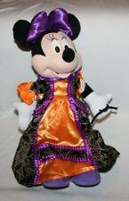 "Halloween Disney 25"" Minnie Mouse Orange Black Purple Witch Porch Greeter Cute"