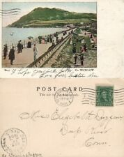 BRAY COUNTY WICKLOW IRELAND 1905 UNDIVIDED ANTIQUE POSTCARD