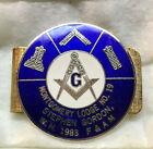 Masonic Freemasons Money Clip Montgomery Lodge No 19 PA 1983