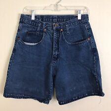 "LEI Vintage 90s High Rise ""Mom"" Cotton denim jeans shorts medium 30"" waist"