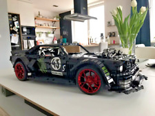 2943 PCs Block RC App Control Ford Mustang Hoonicorn RTR V2 Model Sport Car Gift