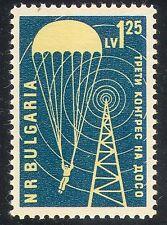 Bulgaria 1960 de paracaidistas/paracaídas/Radio Mástil/Military/Fuerza de Defensa 1v n37284