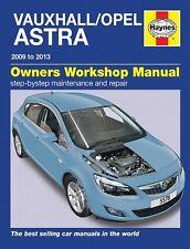 Haynes Manual Vauxhall / Opel Astra Dec 2009 - 2013 5578 NEW