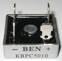 1000 Volt Bridge Rectifier - 50 Amp - 50 A - Metal Case - 1000V 50A Diode Bridge