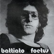 FRANCO BATTIATO Foetus LP italian prog