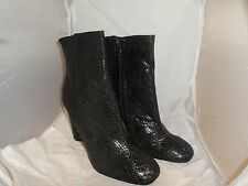 Snake Heeled Ankle Boot- Black UK8 EU41 JS20 98 SALEw
