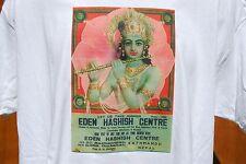 graphic retro art vintage Cotton Mens T Shirt , S,M,L,XL , EDEN HASHISH