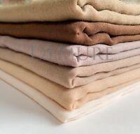 Hijab Scarf Shawl Plain Maxi Viscose/Rayon Cape Sarong Wrap