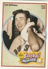 FREE SHIPPING-MINT-1991 Upper Deck Baseball Heroes Ted Williams Red Sox #29