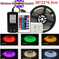 7 Color LED Strip Under Car Tube underglow  Underbody  Interior Neon Lights Kit~
