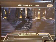 Star Wars 2013 Galactic Files 2 Honor the Fallen HF-5 Operation Nightfall NM-MT