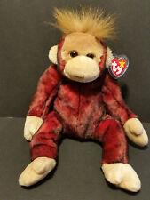 TY Beanie Buddies 1999 Schweetheart the Monkey