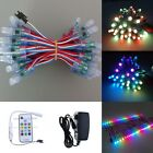 50x WS2811 Adressable RGB LED Pixel IP68 & SP103E Controller & 5V 3A Power Kit