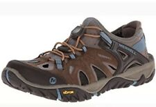 NEW Merrell Womens All Out Blaze Sieve Outdoor Shoes Size 9 Brown Sugar/Blue