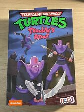 NECA - TMNT -( Ultimate Foot Soldier :  Trouble?s Afoot )- New!