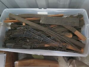 HO BRASS AND  WOOD TRACK HO IN BULK