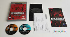 Nintendo Gamecube - Metal Gear Solid The Twin Snakes - PAL - FRA