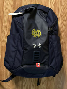 Notre Dame Football Team Issued Under Armour Backpack New Tags