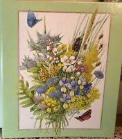 """NIB Hallmark Marjolein Bastin Nature's Sketchbook Photo Album 11"""" X 13"""""""