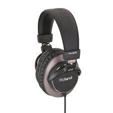 NEW Roland RH-300 Headband Headphones Black for monitor listening DJ from Japan
