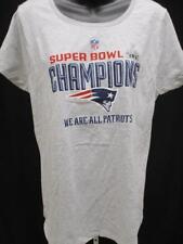 New New England Patriots Womens Size XL XLarge Gray Shirt