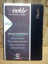 Agenda Settimanale Weekly Intempo 2022 Blu 15x21 (014)