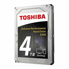 Toshiba HDWE140XZSTA 3.5in SATA III 128MB Cache 4TB 7200RPM Internal Hard Drive